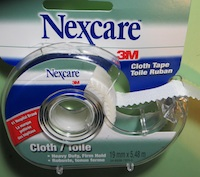 Or 3m Nexcare cloth tape 19mm